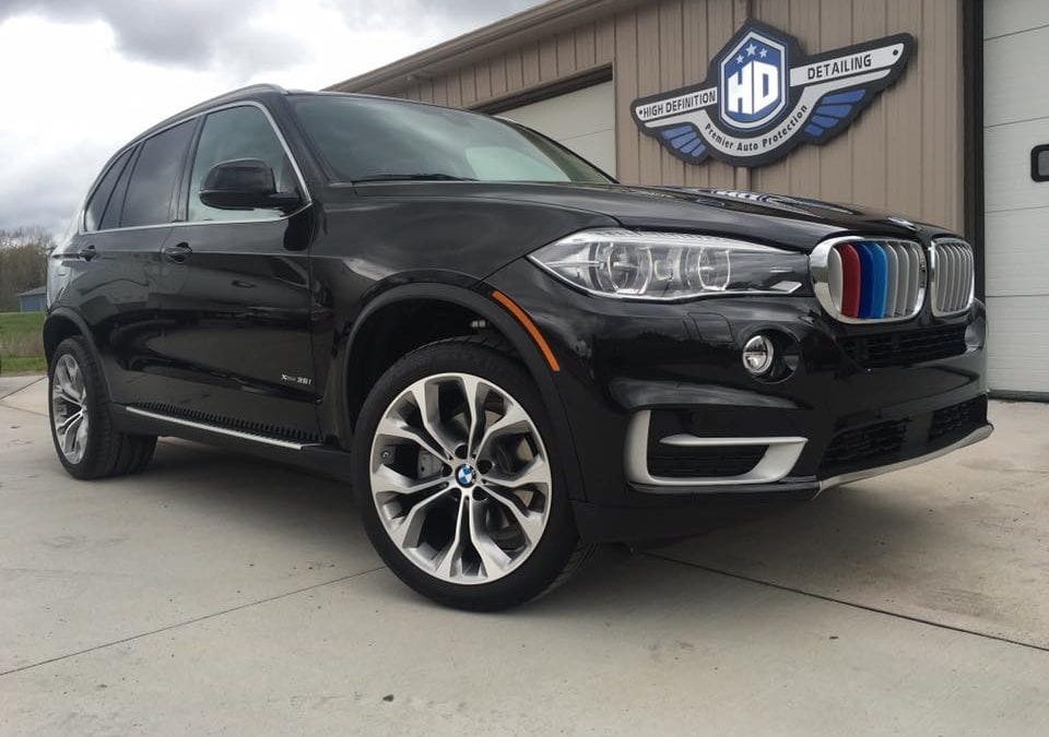 2016 BMW X5 with Ceramic Pro Platinum Package