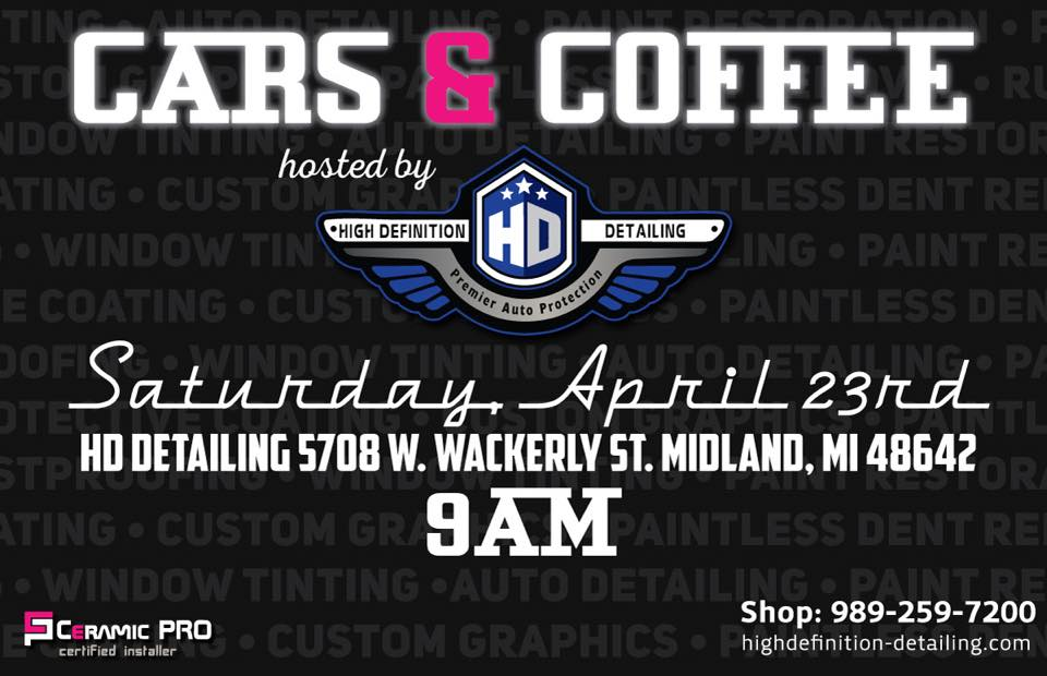 Cars & Coffee Event – April 23rd