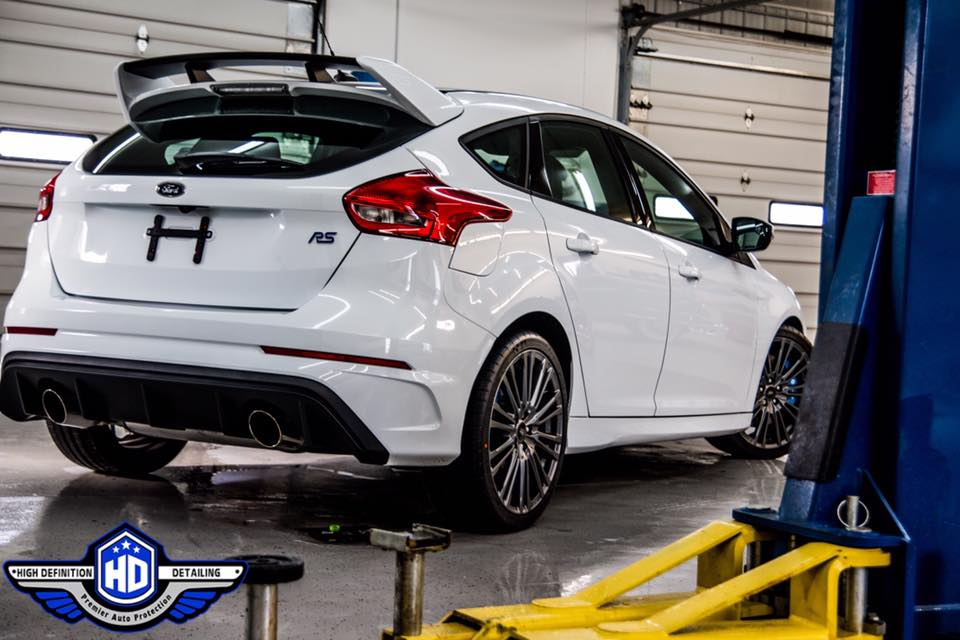 2017 Ford Focus RS with Ceramic Pro Silver Package